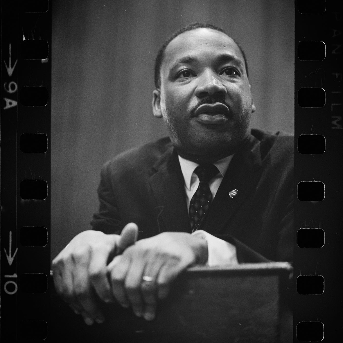Martin Luther King press conference. Negative by Marion S. Trikoso, 1964. Prints & Photographs Division. https://www.loc.gov/item/2003688129/